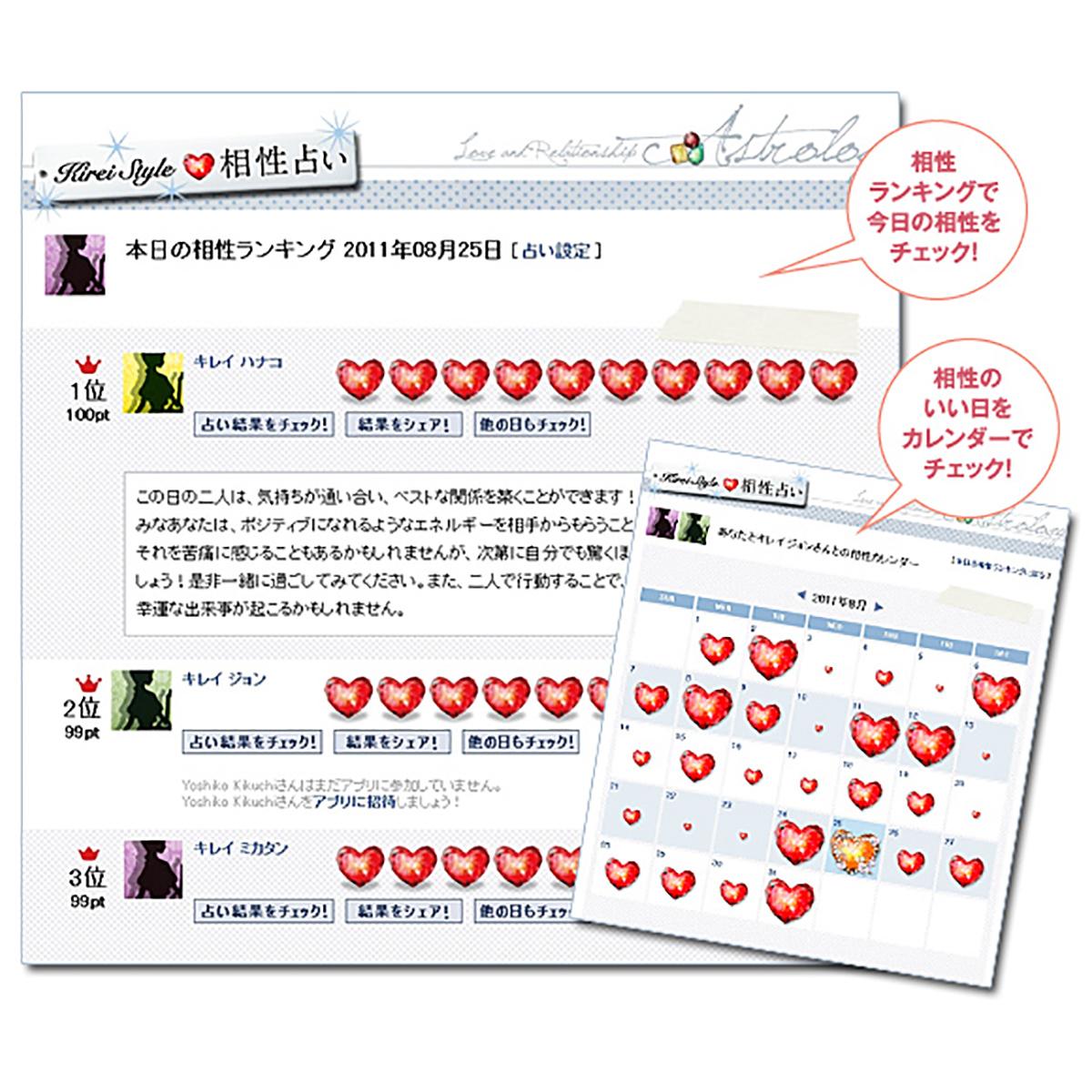 占いFacebookアプリ